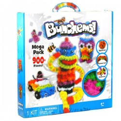 Конструктор Bunchems Mega Pack 900+