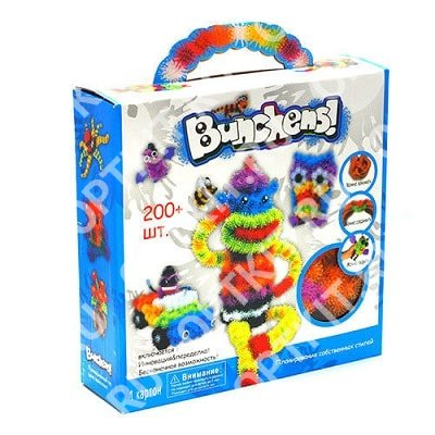 Конструктор Bunchems Mega Pack 200+
