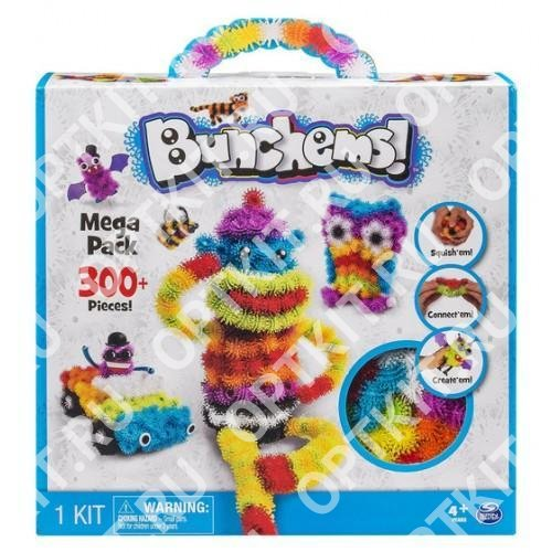 Конструктор Bunchems Mega Pack 300+