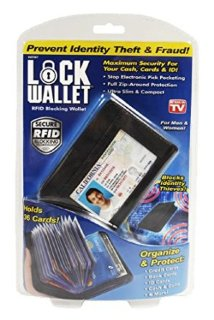 Кошелек Lock Wallet RFID Blocking